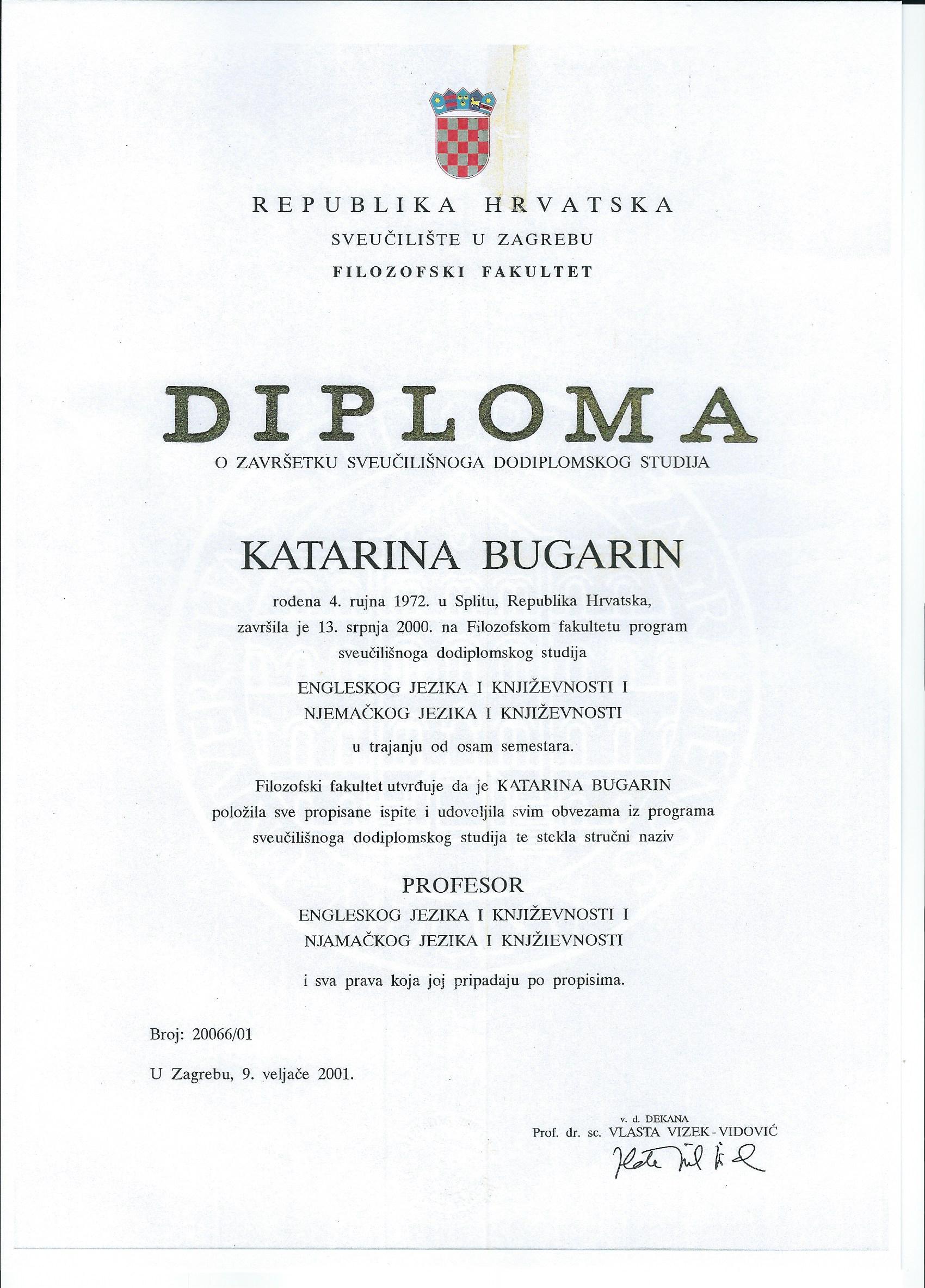 DIPLOMA_KATARINA BUGARIN