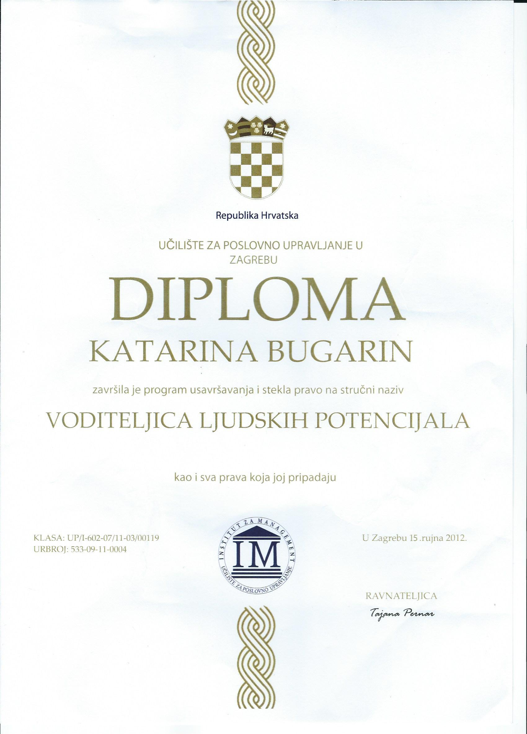 HR VODITELJ_KATARINA BUGARIN